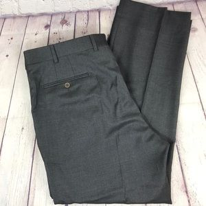 36x28 Cremieux Wool Flat front wool dress pants